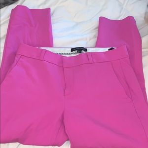Banana Republic pink Avery pants